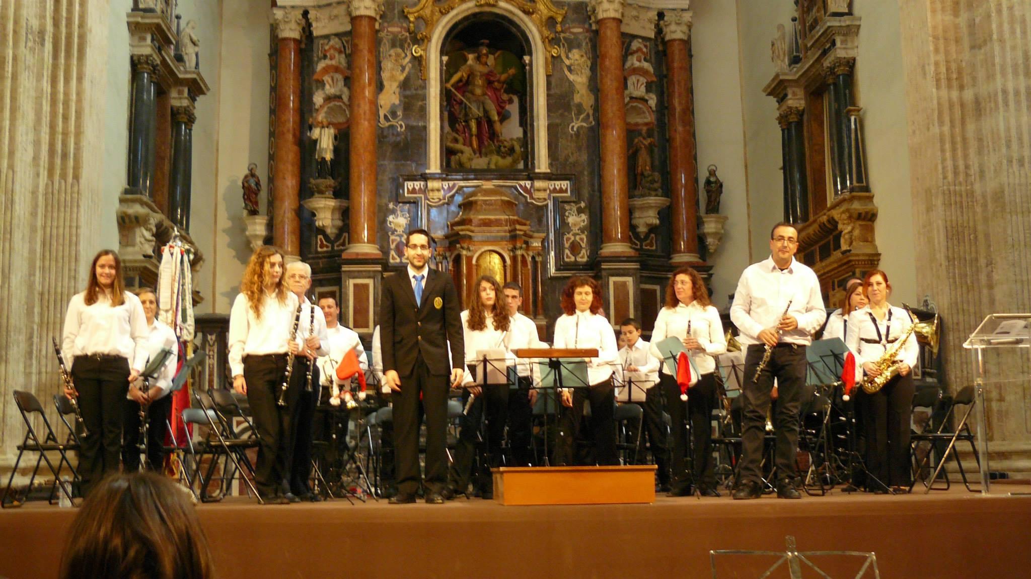 Banda de Iniciación- Director Francisco Berrio