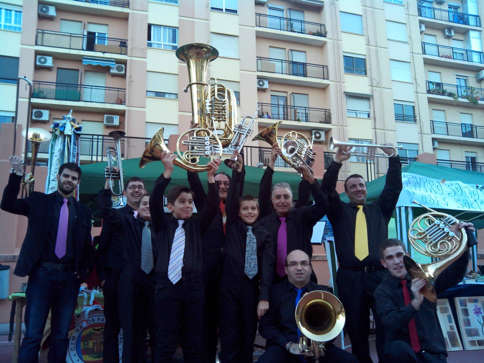 banda de metales - brass band