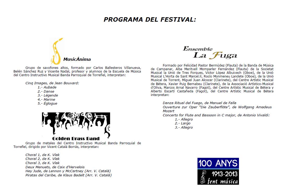 Programa A
