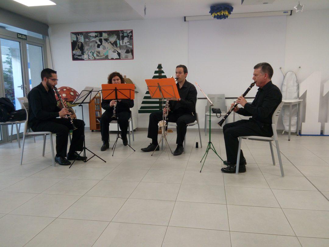 casa de la caridad valencia - Cuarteto de Clarinetes BlackWood