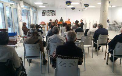 Actuación Casa de la Caridad Valencia de nuestro Cuarteto de Clarinetes
