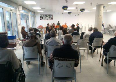 Casa de la caridad de Valencia - Actuación Grupo de clarinetes