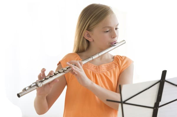 Aprende tocar instrumento flauta travesera