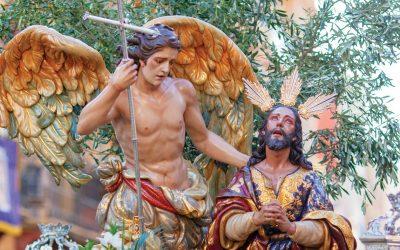 Homenaje a la Cofradía Oración de Jesús en el Huerto de Valencia